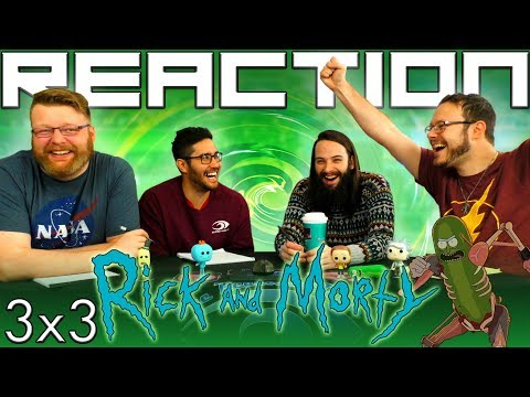 "Rick and Morty 3x3 REACTION!! ""Pickle Rick"""