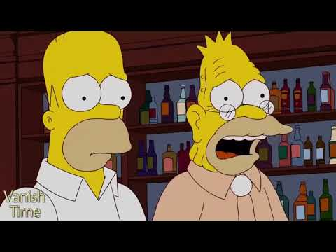 The Simpsons - Homer and his dad OPEN A BAR IN IRELAND