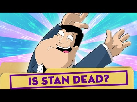 Is Stan Dead? - American Dad - Next Time On Cartoon Conspiracy @ChannelFred